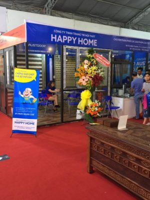 Vietbuild 2018 công ty Happy Home
