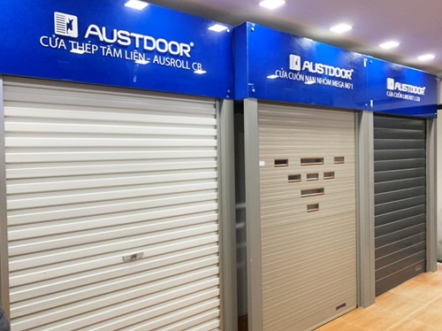 cửa xếp austdoor
