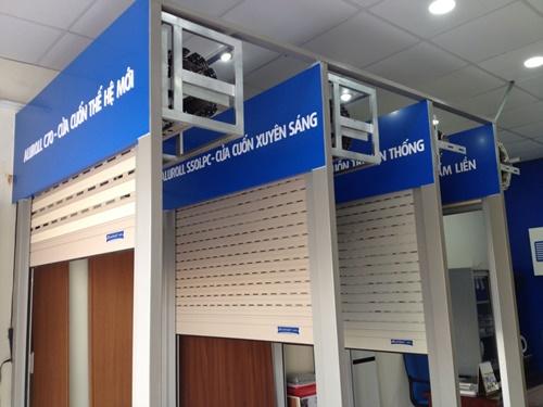 cửa cuốn austdoor kéo tay