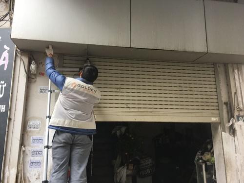 sửa chữa cửa cuốn