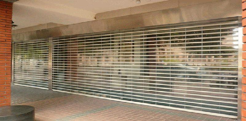 Cửa cuốn Austdoor được sử dụng tại các trung tâm thương mại