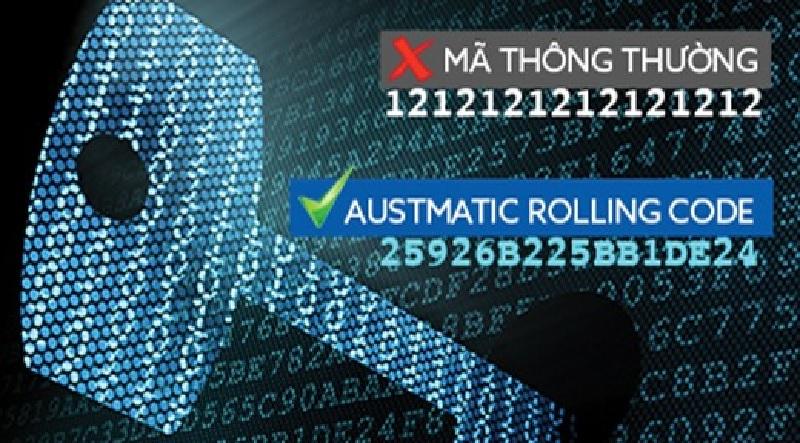 Hệ thống mã nhảy (Austmatic Rolling Code)