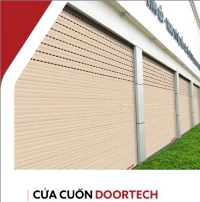 Cửa cuốn Doortech ngày càng được sử dụng phổ biến