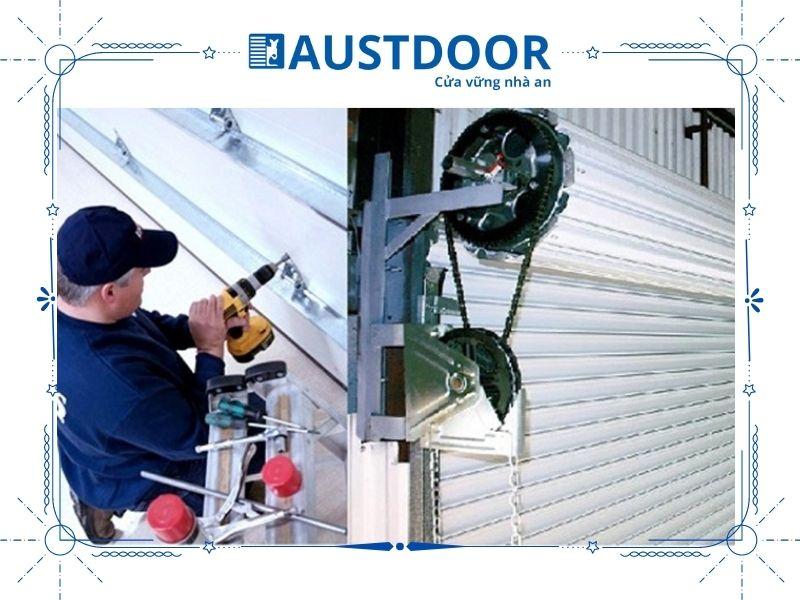 Dịch vụ sửa chữa cửa cuốn Austdoor
