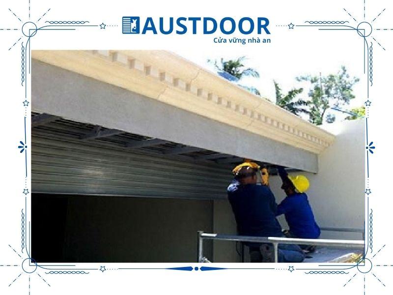 Quy trình sửa chữa cửa cuốn của Austdoor đơn giản, nhanh chóng, vô cùng chuyên nghiệp