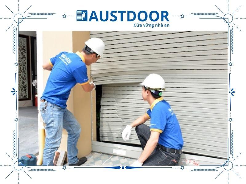 Quy trình sửa chữa cửa cuốn Austdoor đơn giản, nhanh chóng, tiện lợi