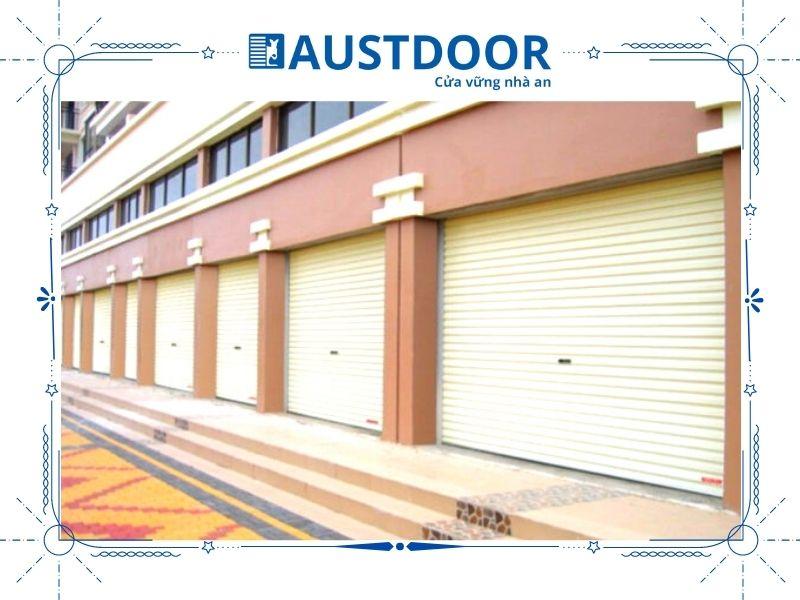 Cửa cuốn doortech là sản phẩm được sản xuất từ thương hiệu Doortech