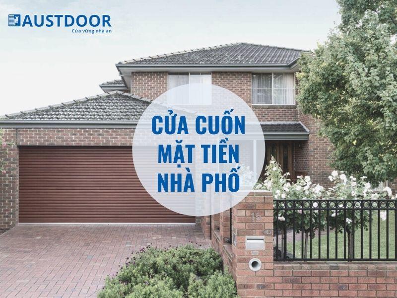 Cửa cuốn mặt tiền nhà phố đẹp, chất lượng, giá rẻ