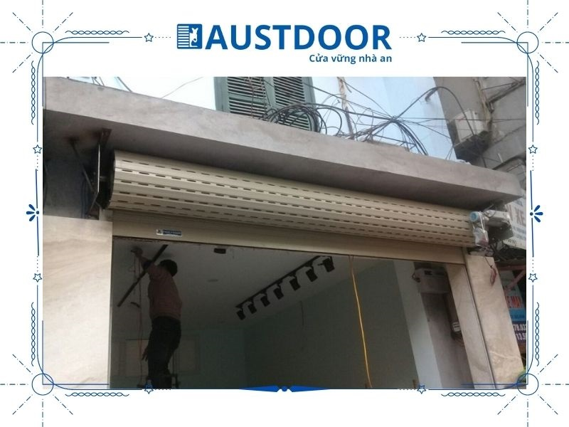 Thông tin dịch vụ sửa chữa cửa cuốn Austdoor tại quận 10