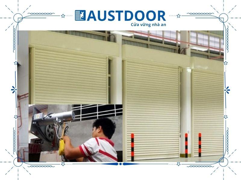 Quy trình sửa chữa cửa cuốn của Austdoor