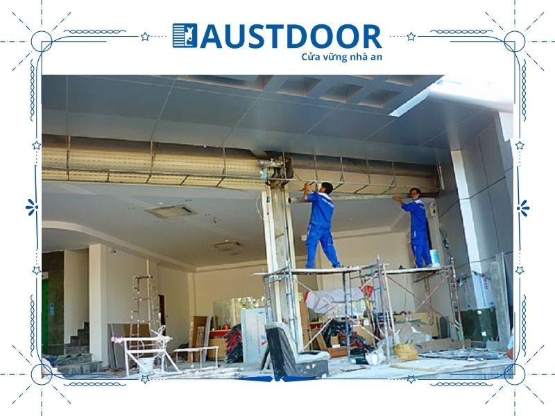Dịch vụ sửa chữa cửa cuốn luôn đảm bảo chất lượng