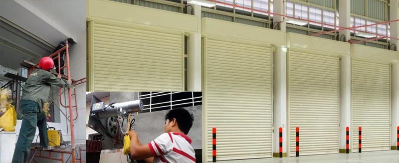 Quy trình sửa chữa cửa cuốn tại quận Bình Tân