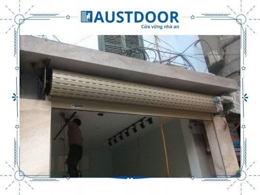 Quy trình sửa chữa cửa cuốn tại quận Tân Phú