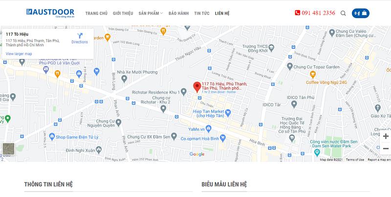 Báo giá dịch vụ sửa chữa cửa cuốn tại quận Tân Phú