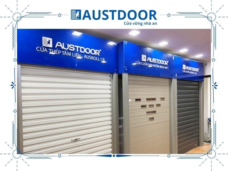 Cửa cuốn Austdoor mang nhiều ưu điểm nổi trội