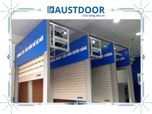 Cửa cuốn kiểu dáng tấm liền Austdoor