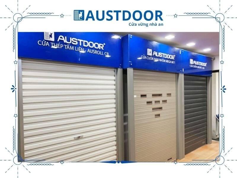 Cửa cuốn Austdoor có tính an toàn cao