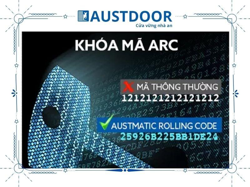 Khóa ARC là một trong những tính năng bảo mật rất tốt