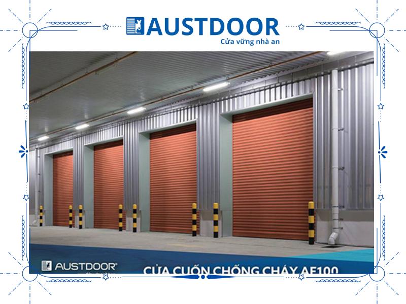 Sản phẩm cửa cuốn Austdoor đã bán được hơn 2 triệu sản phẩm